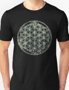 SACRED GEOMETRY METATRON MATRIXFLOWER OF LIFE Unisex T-Shirt