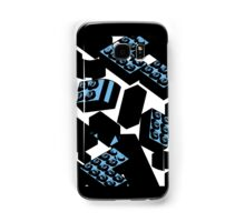 Drawn Blue Legos Samsung Galaxy Case/Skin