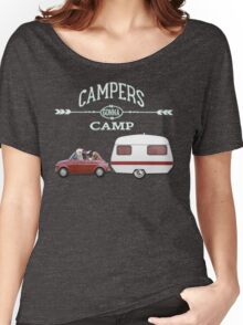 LET`S GO WINTER CAMPING by Monika Strigel Women's Relaxed Fit T-Shirt