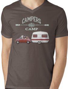 CAMPERS GONNA CAMP by Monika Strigel Mens V-Neck T-Shirt