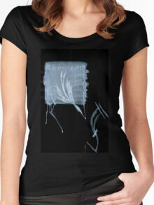 0036 - Brush and Ink - Competing Ideals Women's Fitted Scoop T-Shirt