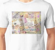 Jane Austen travel adventure quote Unisex T-Shirt