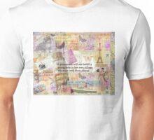 Jane Austen travel adventure quote Unisex T-Shirt