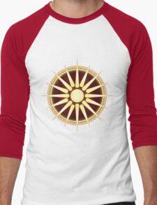 Vergina Sun Men's Baseball ¾ T-Shirt