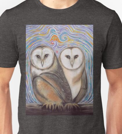 Pair of Barn Owls Unisex T-Shirt