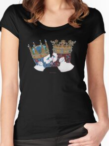 Two Kingdoms  Women's Fitted Scoop T-Shirt