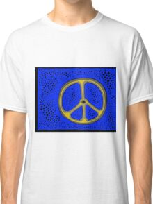 Everlasting Peace COLORIZED HALF-TONE Classic T-Shirt