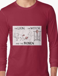 The Lion, The Witch and The Rosen Long Sleeve T-Shirt