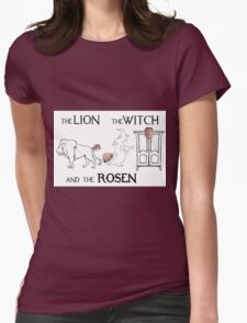 The Lion, The Witch and The Rosen Womens Fitted T-Shirt