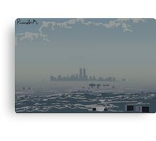 A far away Dream Land Canvas Print