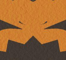 Angry Pumpkin Sticker