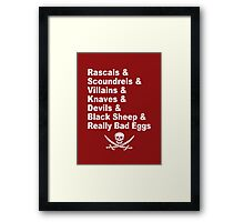 A Pirate's Life For Me Framed Print