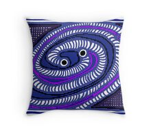 Gravitational Waves COLORIZED HALF-TONE Throw Pillow