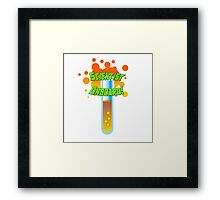 Scientist Onboard! Framed Print
