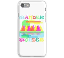 Wander Wonder Mountain Scene iPhone Case/Skin