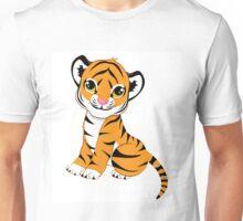 Cute Little Tiger Cub  Unisex T-Shirt