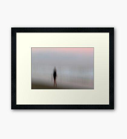 Sleepwalking Framed Print