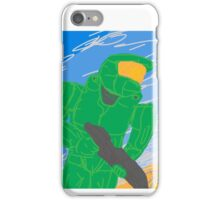 DrawSomething Chief 'Halo' iPhone Case/Skin