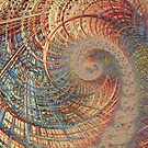 Rollercoaster Fine Fractal Art by Vicky Brago-Mitchell