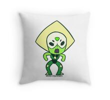 Peridot Chibi Throw Pillow