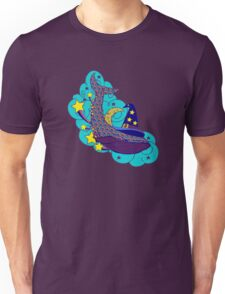 Space wizard whale Unisex T-Shirt