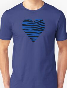 0138 Cobalt Blue Tiger Unisex T-Shirt