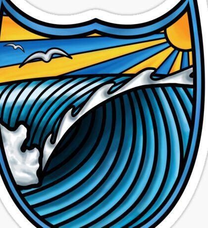Surf Paradise T Shirt Sticker