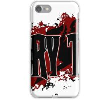 Fairy Tail Title (Maroon) iPhone Case/Skin