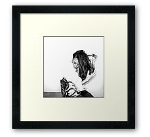 Self Portrait - Pull & Snare Framed Print