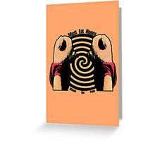 Must Eat Honey Greeting Card