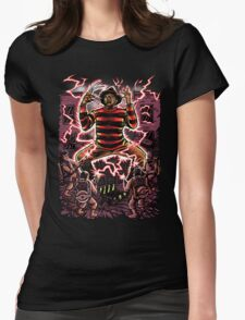 Nightmare Busters Womens Fitted T-Shirt