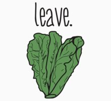 leave. (romaine lettuce) One Piece - Short Sleeve