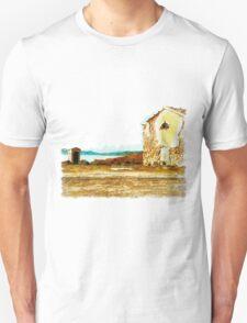 Island Caprera: military archeology Unisex T-Shirt
