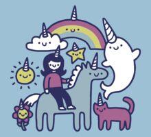 Unicorns Everywhere! Kids Tee