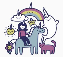 Unicorns Everywhere! Kids Tee