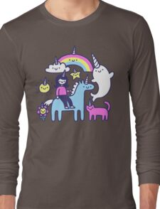Unicorns Everywhere! Long Sleeve T-Shirt