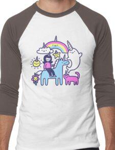 Unicorns Everywhere! Men's Baseball ¾ T-Shirt
