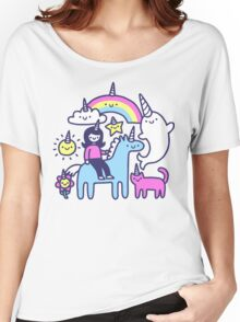 Unicorns Everywhere! Women's Relaxed Fit T-Shirt