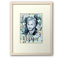 GBarmy Love Framed Print