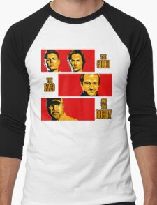 The Good, The Bad, And The Bobby Men's Baseball ¾ T-Shirt