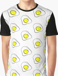 FRIED EGG small/repeat pattern Graphic T-Shirt