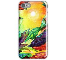 Colours of Sunshine - Leaves  iPhone Case/Skin