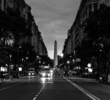 Buenos Aires Obelisc Sticker