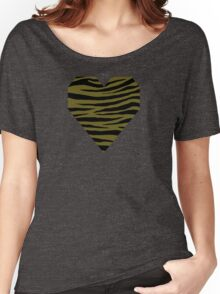 0585 Antique Bronze Tiger Women's Relaxed Fit T-Shirt