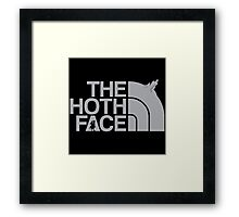 The Hoth Face Framed Print
