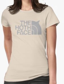 The Hoth Face Womens Fitted T-Shirt