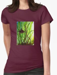 Fish - Amongst the Reeds  Womens Fitted T-Shirt