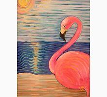 Flamingo Sunset Unisex T-Shirt