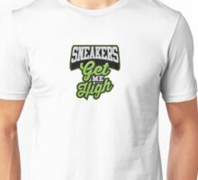 Sneakers Get Me High Unisex T-Shirt