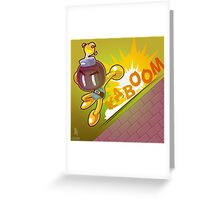 0048 - Bobomberman Greeting Card
